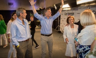 Mauricio Macri – Gabriela Michetti: los ganadores