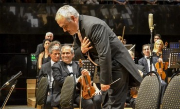 La Orquesta Sinfónica Municipal deslumbró a la Ballena Azul