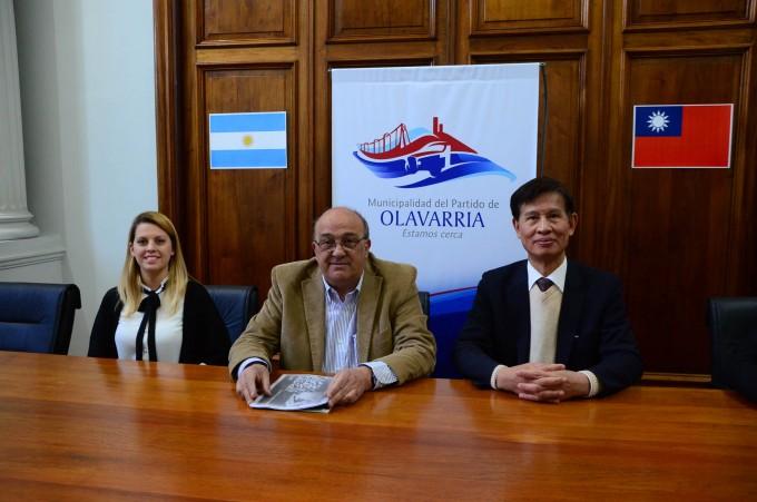 Olavarría recibió a la Misión Empresaria de Taiwán