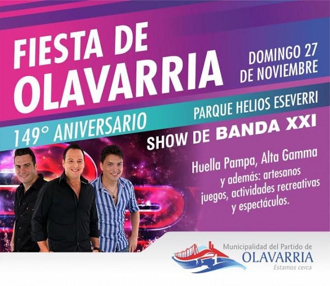Cuenta regresiva para festejar el cumpleaños de Olavarría