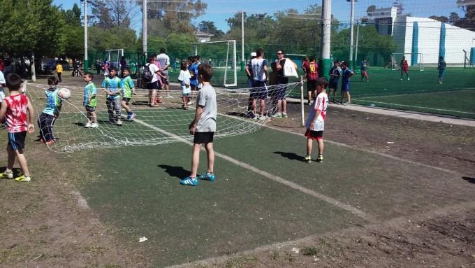 Los chicos vuelven a participar del Fútbol Barrial