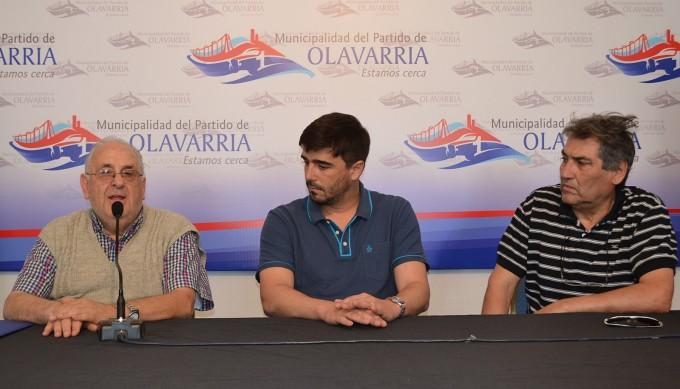 Presentación del Sub 20 de AFA en Olavarría