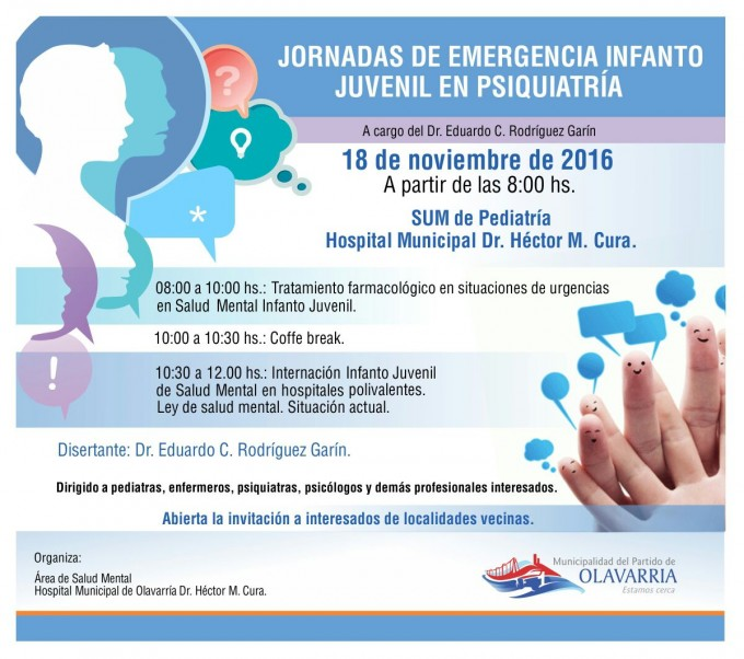 Jornadas de Emergencia Infanto Juvenil en Psiquiatría