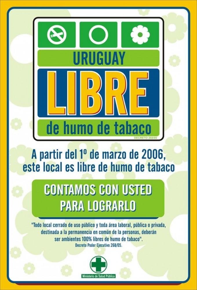 'Uruguay se ha transformado en líder en la región y en el mundo en control de tabaco'