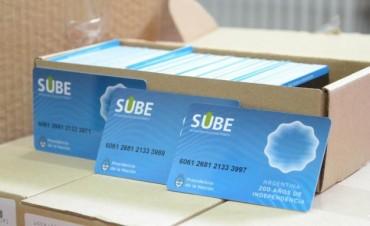 SUBE en Olavarría: la semana próxima se entregarán las tarjetas