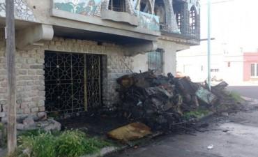 Nuevamente incendio en el castillo Zichieri