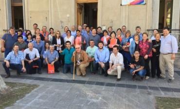 Olavarrienses en el encuentro seccional de la UCR