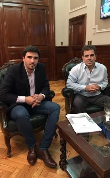 Ministros en el primer encuentro de la Mesa Interinstitucional en Olavarría