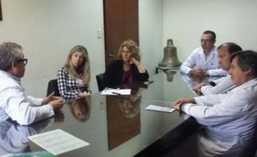 Lordén visitó el Hospital San Martín de La Plata