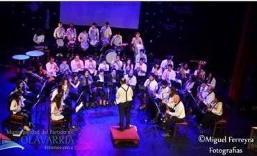 """La Banda Municipal de Olavarría """"Hugo Bazzano""""luego de 36 años de trayectoria se presentaran por primera vez a tocar en un teatro  de Buenos Aires"""