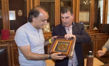 Azul: el Intendente recibió al ministro de Gestión Cultural de la Provincia