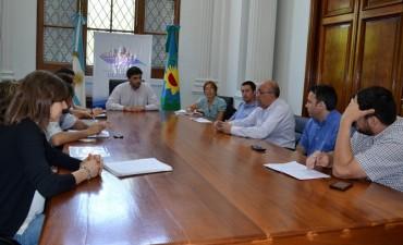Feria Agroalimentaria: Ezequiel Galli encabezó una reunión organizativa