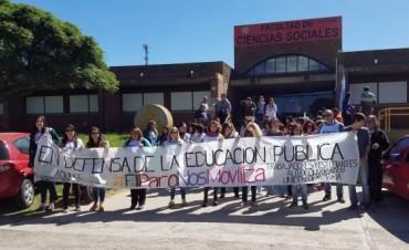 La comunidad educativa abrazó el campus universitario