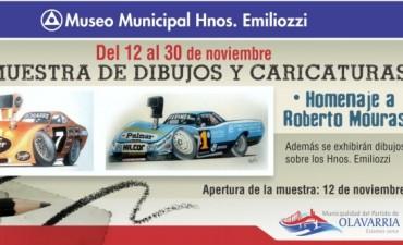 Homenaje a Roberto Mouras en el Museo Emiliozzi