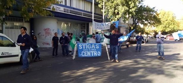 Trabajadores de Camuzzi inician medida de fuerza