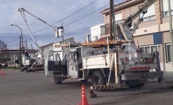 Cortes de energía eléctrica en la tarde de este martes