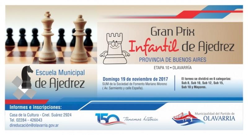 Olavarría sede del Gran Prix infantil de la provincia