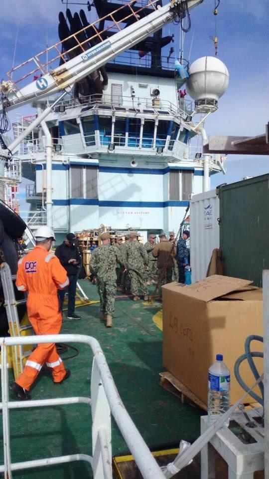 Submarino ARA San Juan: preparan los buques para tareas de rescate