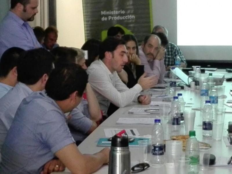 Reunión de Secretarios de Producción de los Municipios de la provincia de Buenos Aires