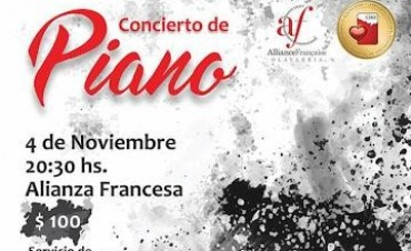 Piano a beneficio de Oncología