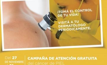 Campaña de prevención cáncer de piel