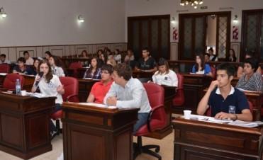 Sesión Concejo Estudiantil