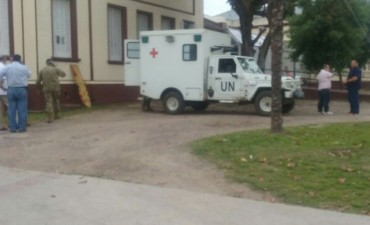 Ejercicios Militares en Azul: falleció un militar olavarriense