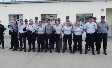 Cadetes de la ciudad de La Plata visitaron las cárceles de Sierra Chica