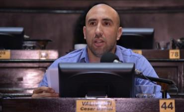 Valicenti criticó el presupuesto 2018, pero también las sub ejecuciones del 2017