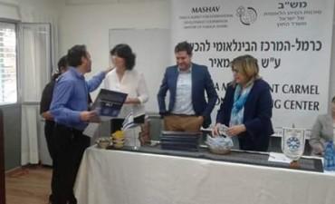 Olavarriense distinguido por el Ministerio de Asuntos Exteriores de Israel