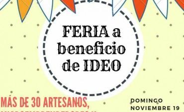 Feria de IDEO este domingo