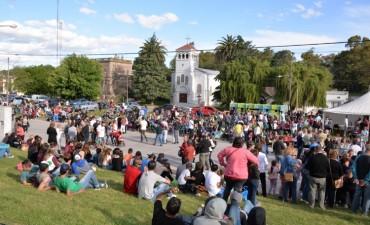 Los sierrabayenses festejaron 138 años de historia