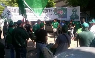 Cidegas:multitudinaria marcha de SMATA con movilización y audiencia en el Ministerio de Trabajo