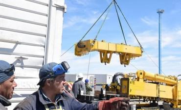 Comodoro Rivadavia: siguen los trabajos para poner a punto el otro submarino teledirigido