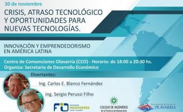 Conferencia sobre innovación y emprendedorismo en América Latina
