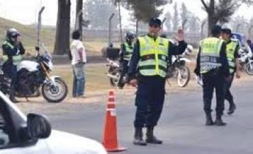 Alrededor de 150 actas de infracción de tránsito en una semana