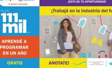 111 mil nuevas oportunidades de formación e inserción laboral