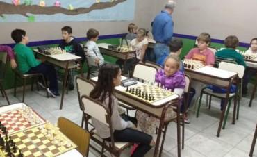 Cierra la actividad del Circuito Olavarriense de Ajedrez Infantil