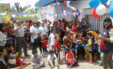 """El Jardín Maternal """"Rayito de Sol"""" festejó sus 24 años"""