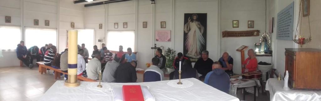 La Iglesia Católica forma referentes en la cárcel