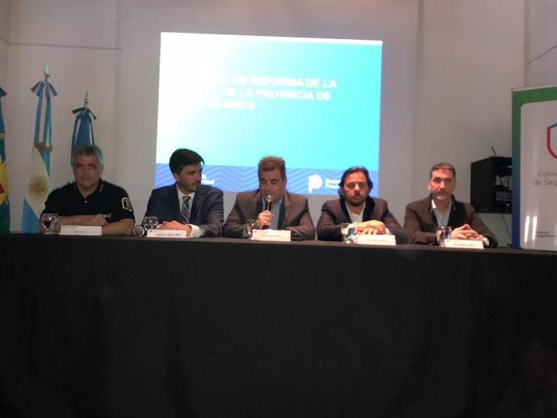 El Consejo Regional de Seguridad deliberó en Olavarría