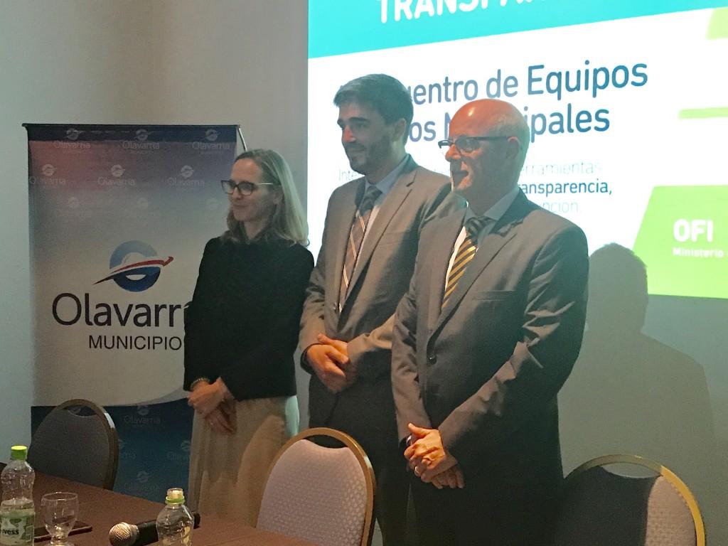 Olavarría es sede del II Encuentro de Equipos Técnicos Municipales de Buenos Aires Transparente
