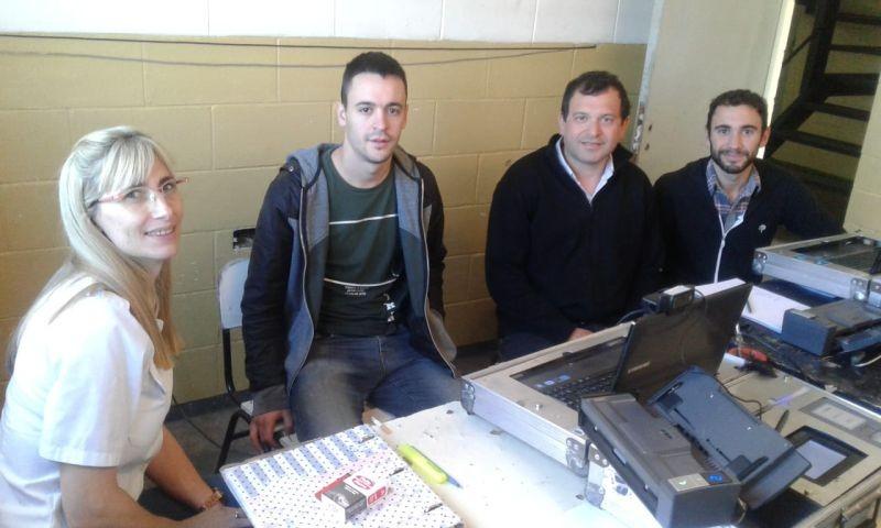 Continúa el plan de documentación civil  de internos en la Unidad N° 17 de Urdampilleta