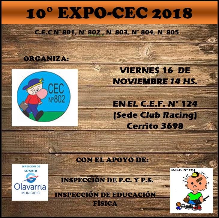 Se realiza la 10 ª Expo-Cec
