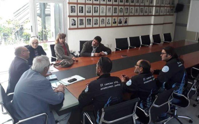 Stuppia negocia el convenio colectivo de trabajo de los municipales de Balcarce
