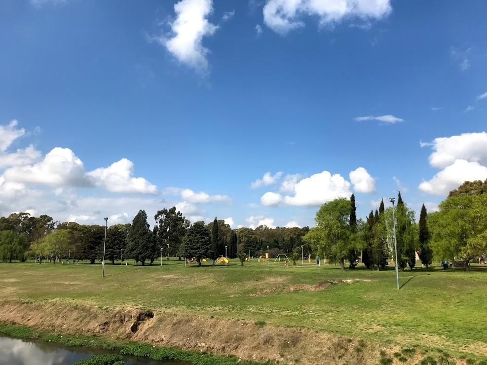 Nuevas veredas en Parque Eseverri