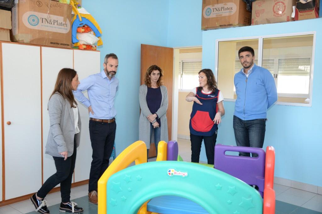 Municipio y Nación trabajan juntos en optimizar el desarrollo de la Primera Infancia