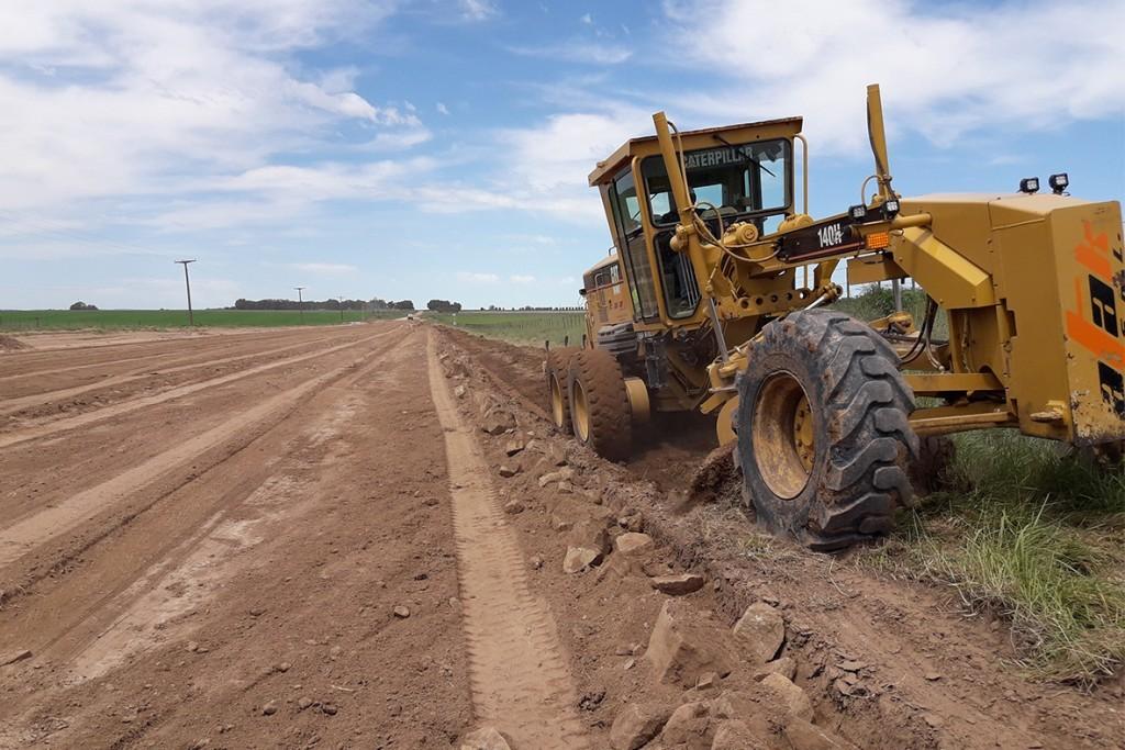 Novedades Trabajos en Caminos Rurales de Olavarría