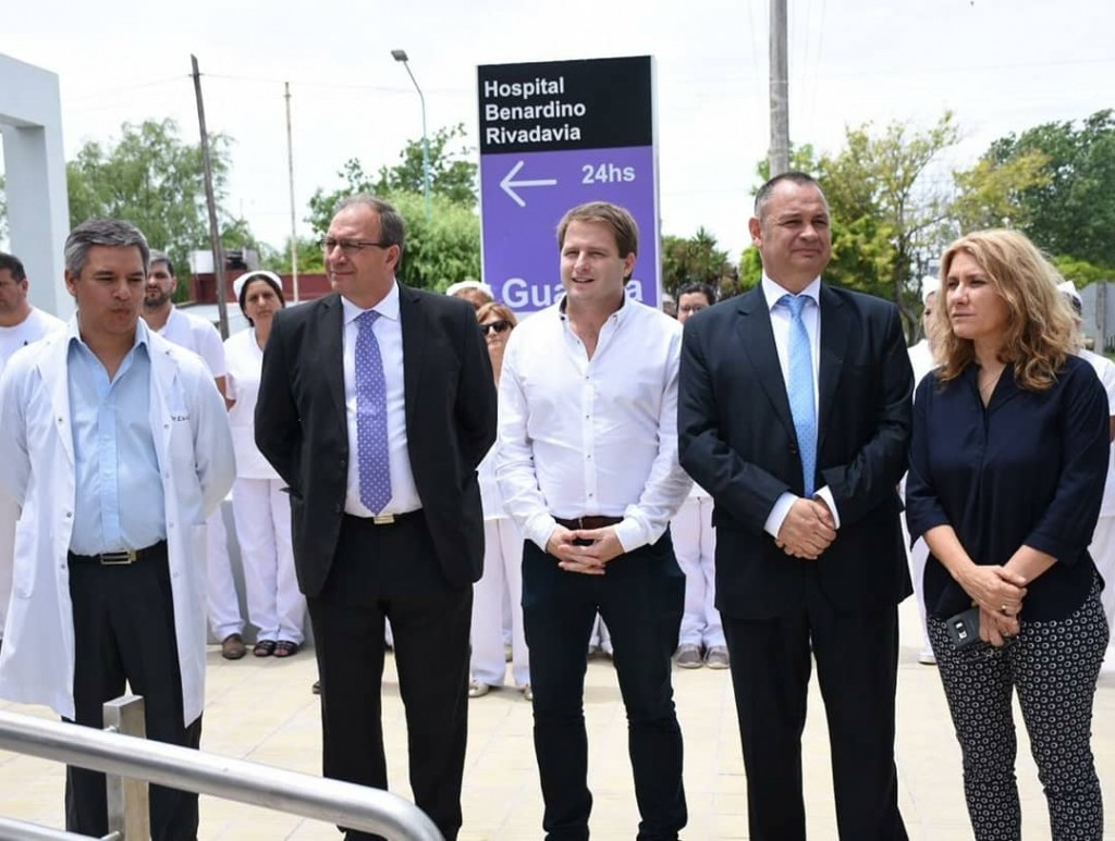 Alvear: se inauguró la nueva guardia del Hospital
