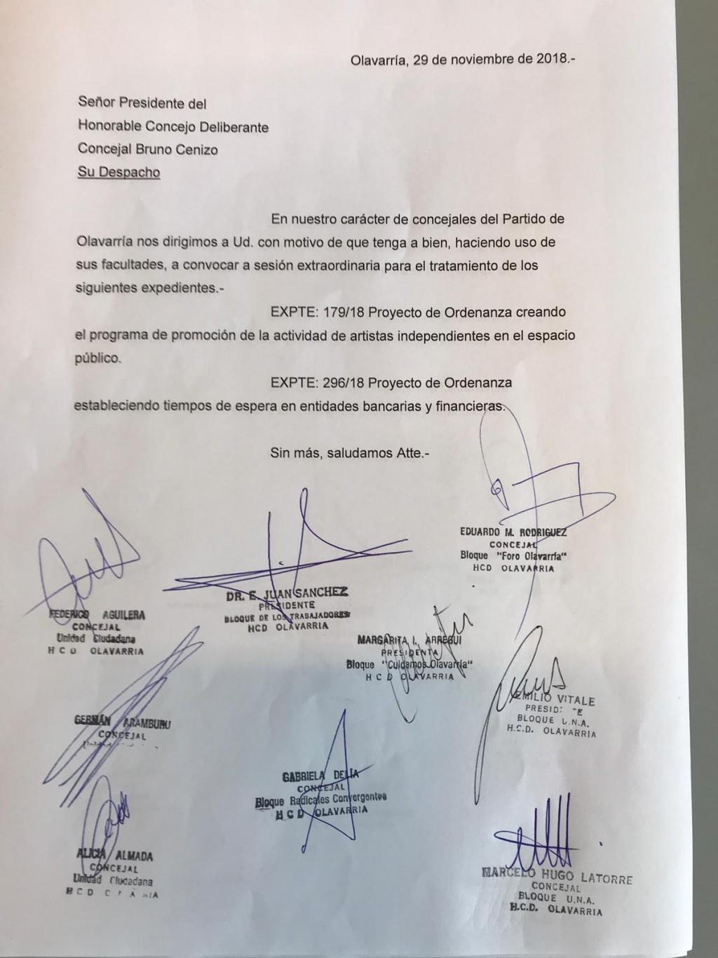 Concejo: La oposición pide sesión extraordinaria